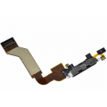 iPhone 4S charging port flex cable with mic [White]